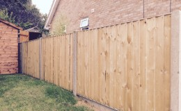 Viking Heights weatherboard fence 3