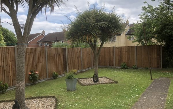 Fence dismantling in Ipswich and erecting a new fence in its place