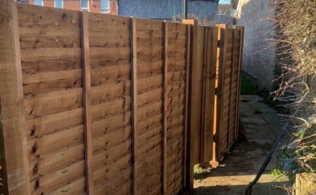 Ipswich Fence After landscape